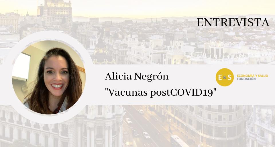 ENTREVISTA Alicia Negrón